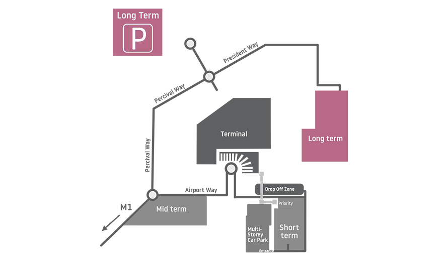 Luton Mid Term Parking >> Luton Airport Car Parking - 1ST Airport Taxis