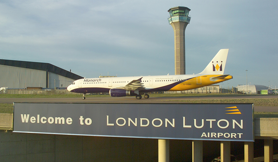 About London Luton airports