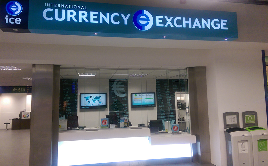 You can buy foreign currency at Luton Airport