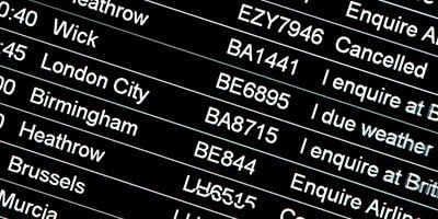 Monitoring each flight for your luton airport taxi