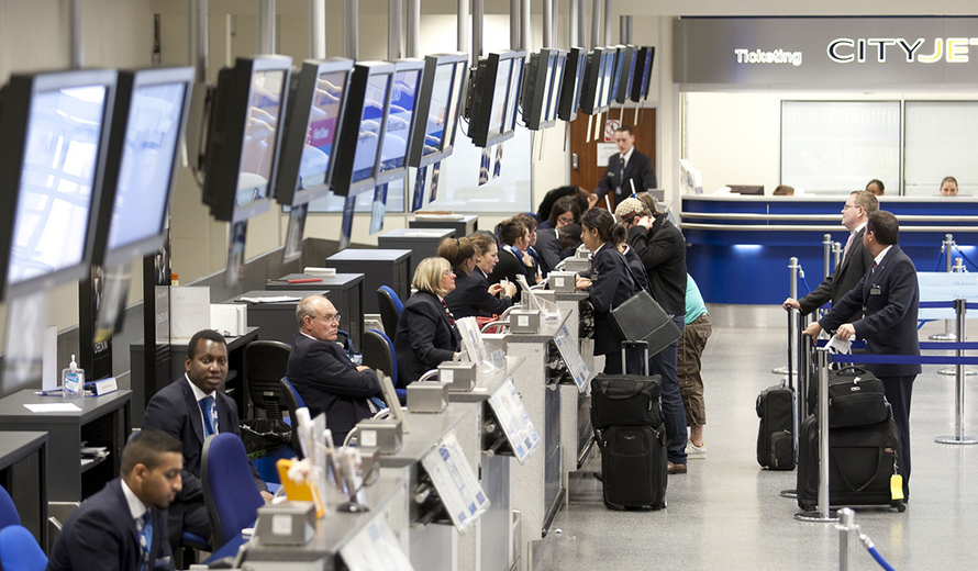 How Long does it takes on security at London City Airport?