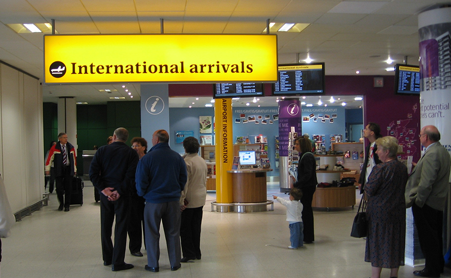 Luton Airport Arrivals