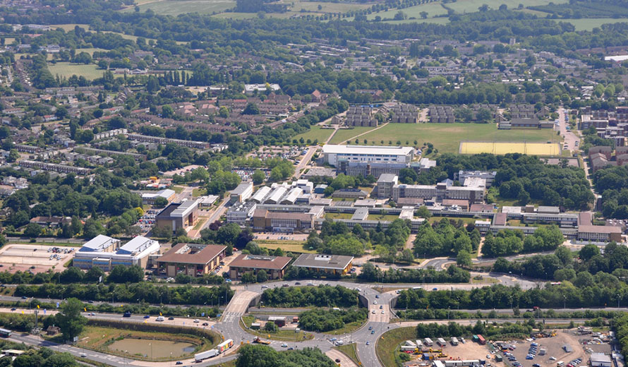 Nearest Towns and Villages to Hatfield University