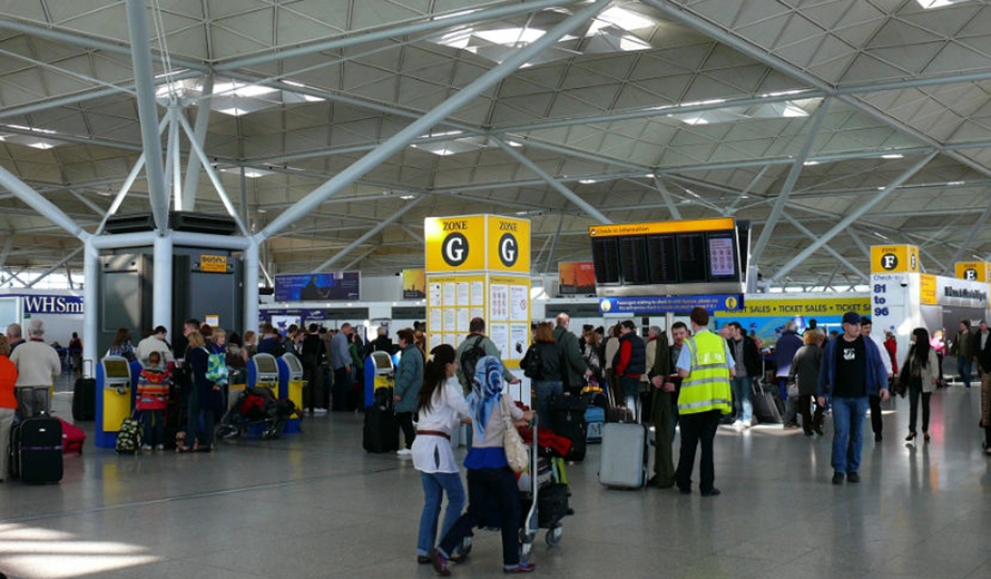 Pick up Point at Stansted Airport
