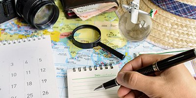 Prepare an Advanced Schedule of Your Travels