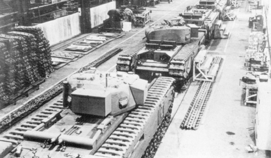Vauxhall Motors During WWII